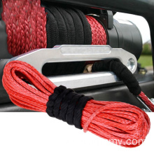 high quality braided synthetic winch rope